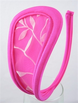 Bild von Design 21 - rosa/Blätter