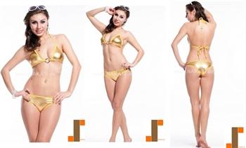 Bild von Bikini - gold